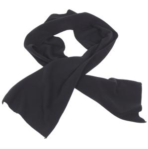 Šal, Fleece-crni