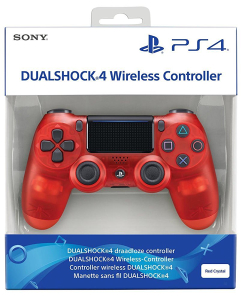 Sony Dualshock 4 Crystal Red V2