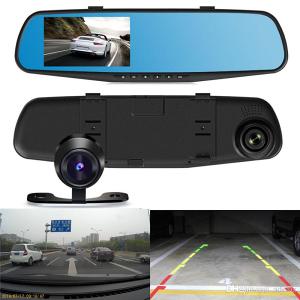 Snimanje saobraćaja + parking auto kamera - 2 u 1 -