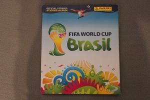 Panini FIFA World Cup Brazil 2014 - prazan album