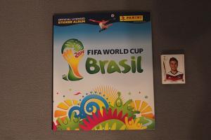 Panini album Brazil 2014 + 100 različitih sličica