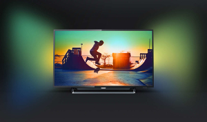 "Philips 4K 55"" UltraHD TV 55PUS6262 AMBILIGHT Smart"