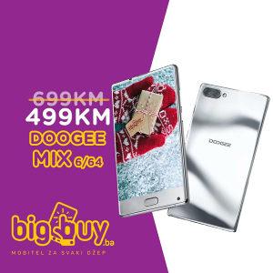 DOOGEE MIX 6GB/64GB SILVER - www.BigBuy.ba