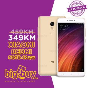 XIAOMI REDMI NOTE 4X 3GB/16GB - www.BigBuy.ba