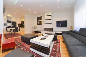 LUXURY 4BDR APARTMENT WITH FIREPLACE-FOR RENT
