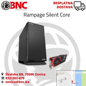 Racunar Gaming Rampage Silent Core