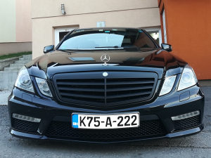 Mercedes w212 E350 Cdi 6.3 AMG OPTIC