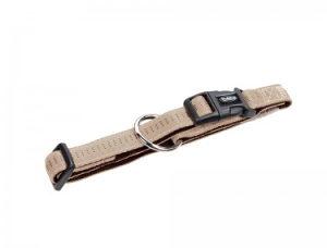 Ogrlica Za Psa NOBBY širina 15mm dužina 25-35cm BRAON