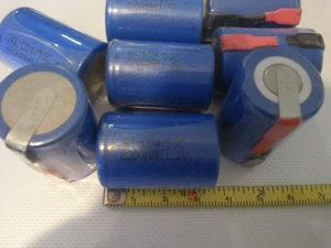 Punjiva acu aku Baterija Baterije SC 4/5 2200mAh 1.2V
