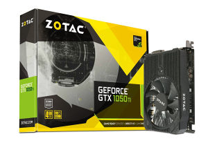 ZOTAC GTX1050-Ti / GTX 1050 Ti 4GB GDDR5 Mini PCIE