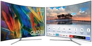 SAMSUNG QLED UltraHD 4KTV QE55Q7C Zakrivljeni SMART