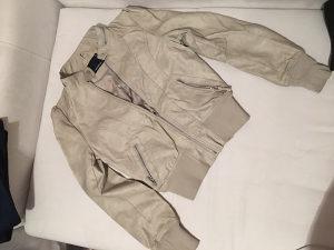Kožna jakna fishbone