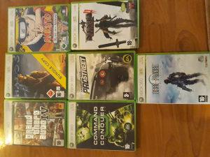 Xbox 360 sa igricama i volanom