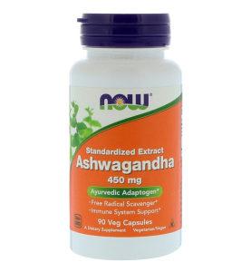 Ashwagandha ekstrakt / 90 kapsula