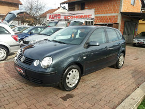 VW POLO BENZIN 5 VRATA 2002 G.P. UVOZ CH