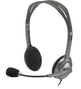 Logitech slušalice s mikrofonom H111