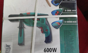 Bušilica električna 600w VERTO 50G509