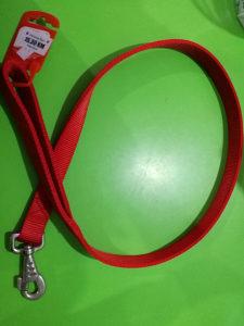 Povodac za pse dupli 25mm x 110cm Camon crveni