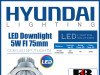 LED Downlight 5W FI 75mm