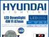 LED Downlight 4W FI 87mm