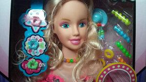 Lutka za friziranje,razne igračke