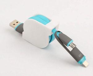 USB Kompaktni Kabal 2u1 za Android i iOS uredjaje