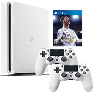 Sony PS4 Slim 500 GB + Gamepad + FIFA 18