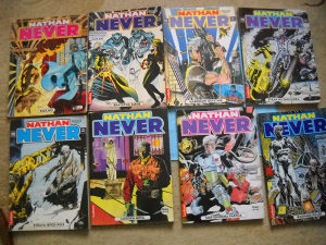 Stripovi Nathan Never - lot 8 komada