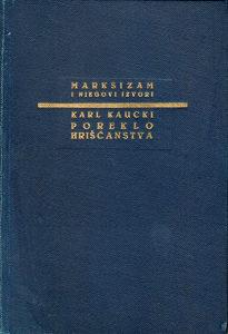 Karl Kaucki – Poreklo hrišćanstva