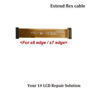 SAMSUNG S6 / S7 EDGE flet - flex test LCD kabl