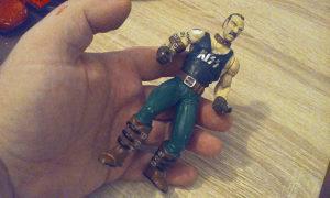 Starija gumena igračka Duž 14 cm iz 1998 g.McFarane Toy