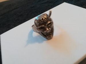 Skull Prsten 925 srebro