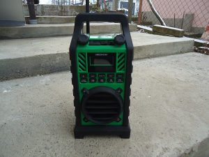 Baustelski radio prijemnik