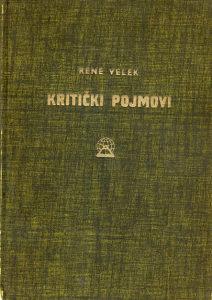 Rene Velek – Kritički pojmovi