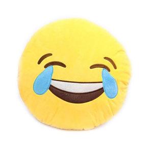 EMOJI jastuk osmijeh i suze emoji jastuci