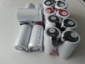 Industrijska acu aku Baterija Baterije SC 2500mAh 1.2V