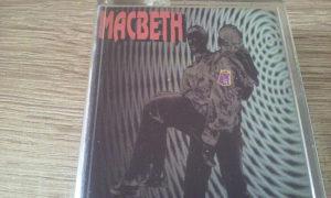 Orginal kaseta MACBETH- Kajlo stara