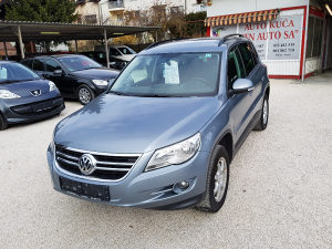 VW TIGUAN 2,0 TDI 4X4 4MOTION 170PS 2008 NAVI
