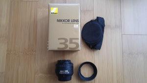 Nikon af-s 35mm f/1.8G DX - Nikkor 35 mm