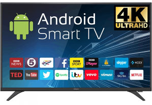 "Vivax 4K 55"" UltraHD ANDROID WiFi Smart TV 55UD95SM"