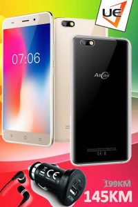 AllCall Smartphone Madrid Black/Gold + 2 POKLONA