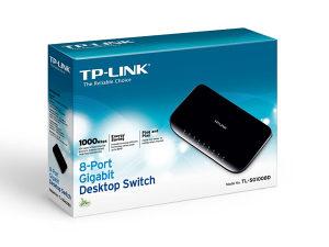 Tp-Link SG1008D Gigabit 8-port switch
