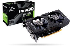 Inno3D Nvidia GTX 1050 Ti Twin x2 4GB DDR5 Dx12