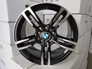 """Aluminijske felge BMW M4 17 Black """" ***Novo***"""