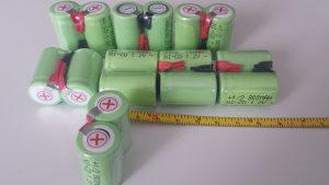 Akumulatorska aku Baterija Ni-MH 1/2 SC 800mAh 1.2V