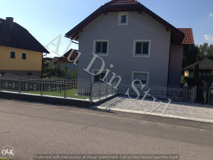 Kovana aluminijska ograda - Kovane aluminijske ograde