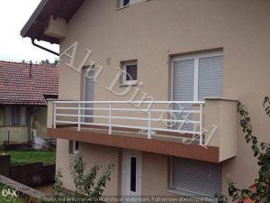 Aluminijske balkonske ograde