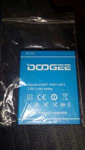 Baterija DOOGEE Valencija 2 Y100 pro,novo,originalna