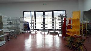 Prodajni stalak stalci za trgovinu police stalaže