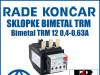 Zaštitna sklopka/sklopke bimetal TRM 12 0,4-0,63A